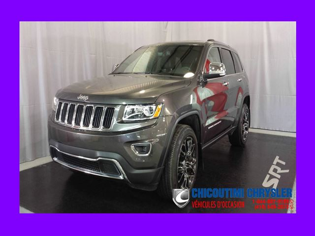2016 Jeep Grand Cherokee Limited 4x4 V6 in Chicoutimi, Quebec