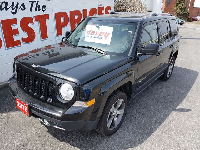 2016 JEEP PATRIOT Sport/North HIGH ALTITUDE PKG, SUNROOF, LEATHER in Oshawa, Ontario