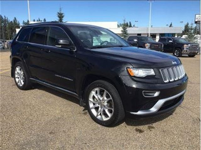 2015 JEEP GRAND CHEROKEE Summit in Wetaskiwin, Alberta