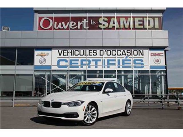 2016 BMW 3 SERIES 328 4X4 AVEC CUIR, NAVIGATION ET +++ in Montreal, Quebec