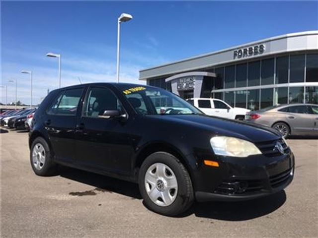 2008 VOLKSWAGEN CITY GOLF 2.0L, AS TRADED. YOU CERTIFY, YOU SAVE in Waterloo, Ontario
