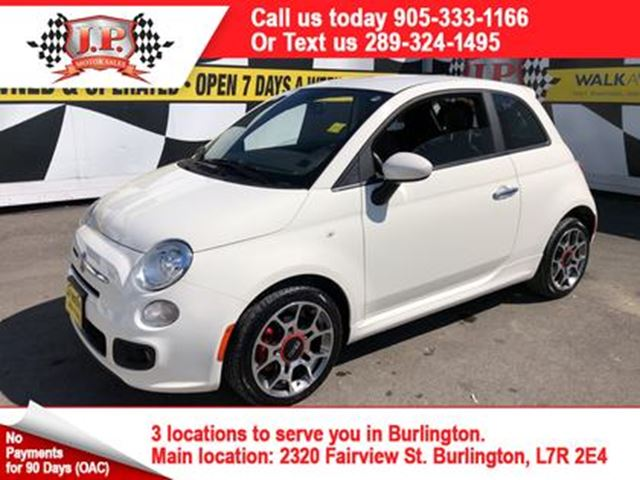2013 FIAT 500 Sport, Automatic, Leather, Power Group, 41, 000km in Burlington, Ontario