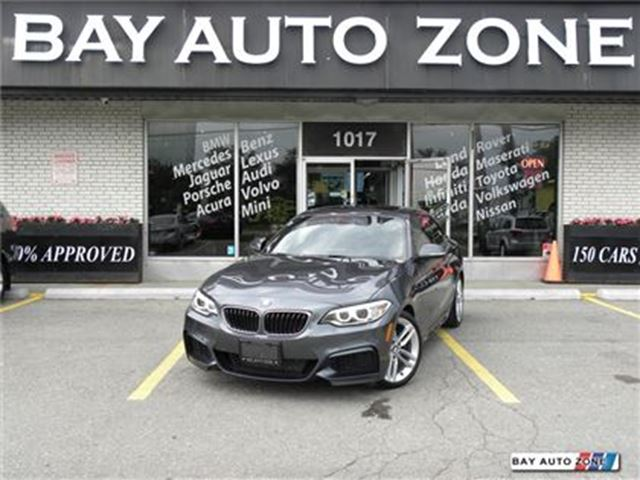 2014 BMW 228i M PKG LEATHER SUNROOF NAVIGATION BACK UP CAMERA in Toronto, Ontario