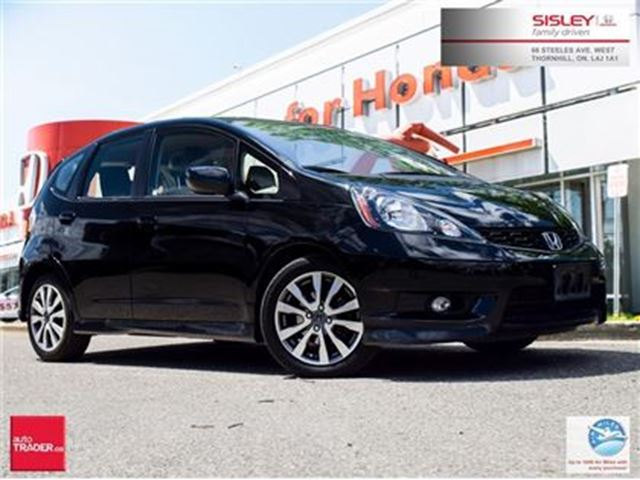 2013 Honda Fit Sport (A5) - Navigation, No Accident, 1 Owner in Thornhill, Ontario