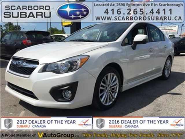 2013 SUBARU IMPREZA 2.0i LTD PKG, FROM 1.9% FINANCING AVAILABLE in Scarborough, Ontario