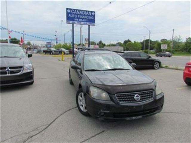 2005 NISSAN ALTIMA 2.5 S   GREAT STARTER CAR FOR RECENT GRADS in London, Ontario