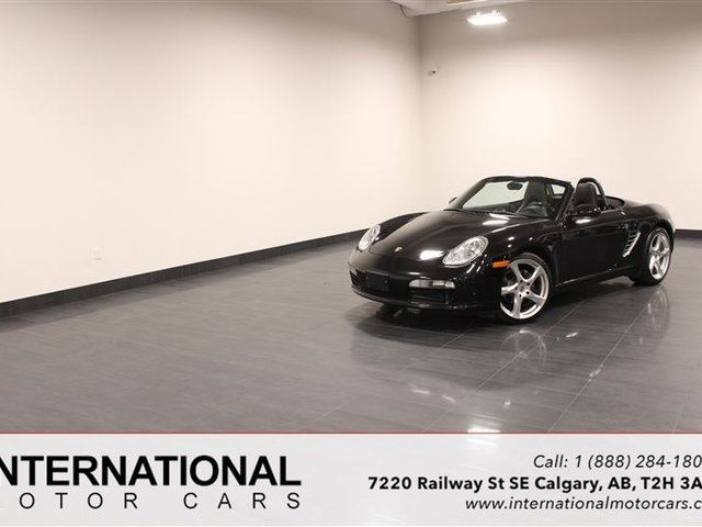 2005 PORSCHE BOXSTER BLOWOUT PRICING!! in Calgary, Alberta