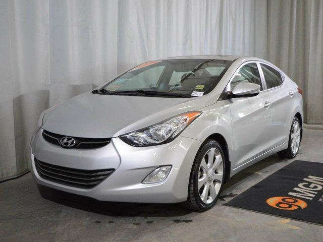 2013 HYUNDAI ELANTRA Limited 4dr Sedan in Red Deer, Alberta