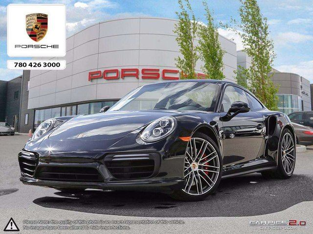 2017 PORSCHE 911 Local 911 Turbo with Burmester Audio in Edmonton, Alberta