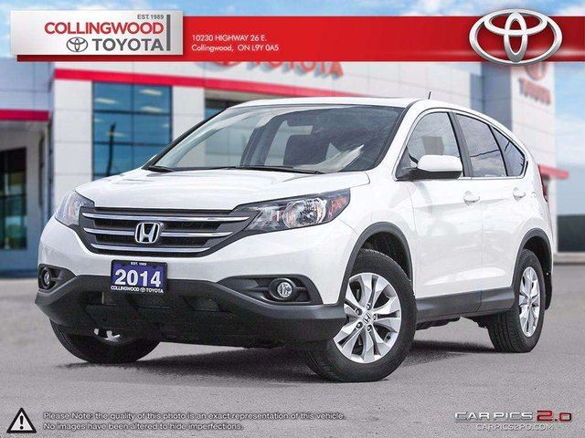2014 Honda CR-V EX AWD MOONROOF AND ONE OWNER in Collingwood, Ontario