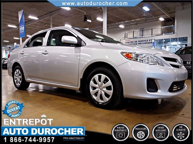 2012 Toyota Corolla AUTOMATIQUE - AIR CLIMATISn++ in Laval, Quebec