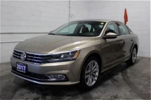 2017 Volkswagen Passat 1.8 TSI Highline Driver Assistance Package in Mono, Ontario