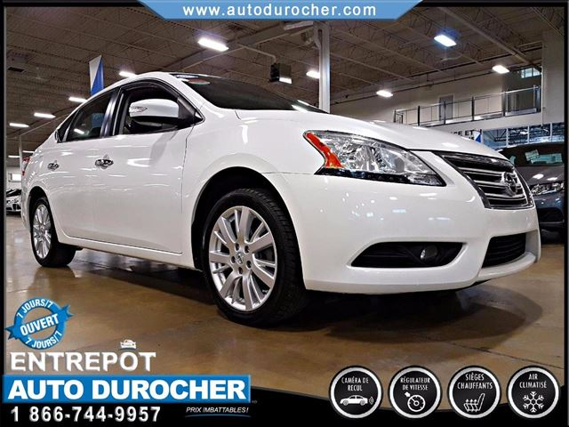 2014 Nissan Sentra 1.8 SL - AUTOMATIQUE - AIR CLIMATISn++ - CAMERA in Laval, Quebec