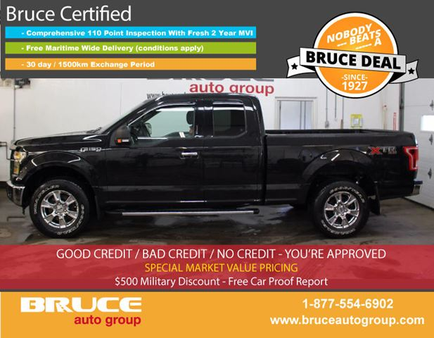2015 FORD F-150 XTR 3.5L 6 CYL AUTOMATIC 4X4 SUPERCAB in Middleton, Nova Scotia