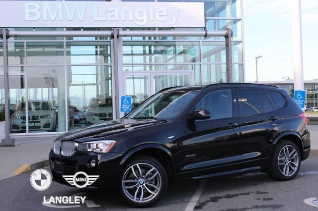 2017 BMW X3 M Sport Line and Premium Package Enhanced!! in Langley, British Columbia