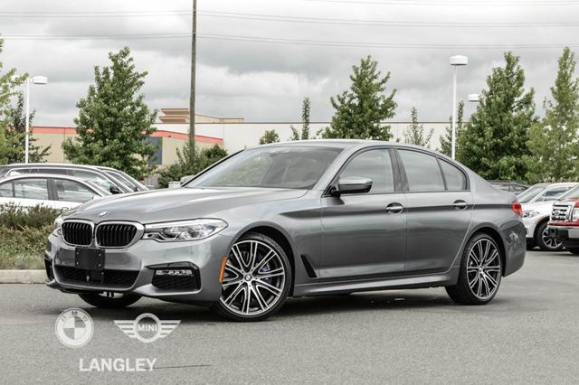 2017 BMW 5 SERIES HEA Package 2 in Langley, British Columbia