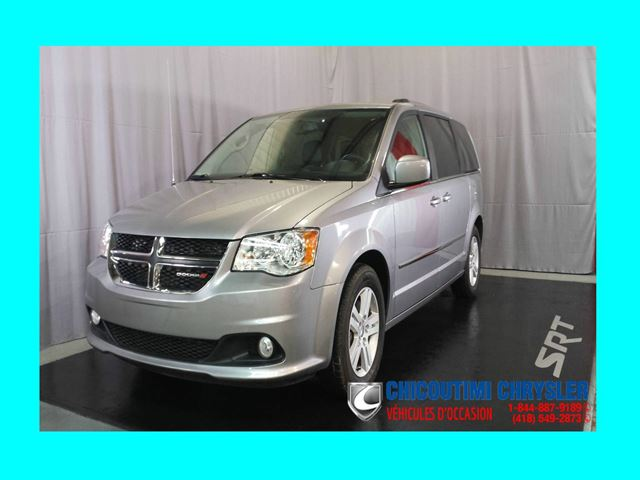 2016 Dodge Grand Caravan Crew Plus Stow'N Go Cuir Sin++ges chauffan in Chicoutimi, Quebec