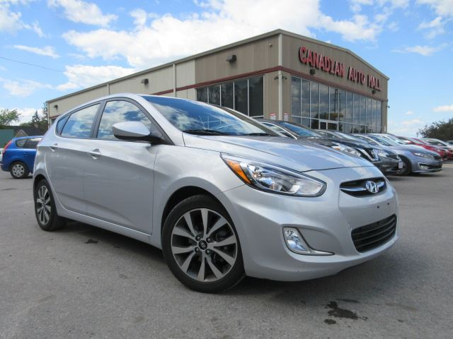 2017 Hyundai Accent SE, ROOF, ALLOYS, BT, JUST 16K! in Stittsville, Ontario