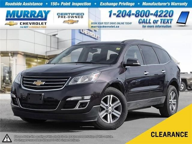 2016 Chevrolet Traverse LT in Winnipeg, Manitoba