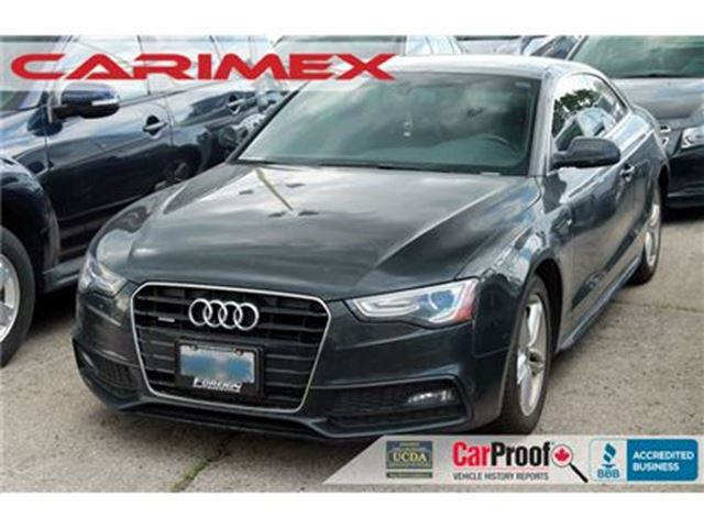 2013 AUDI A5 2.0T Premium Plus   CERTIFIED + E-Tested in Kitchener, Ontario