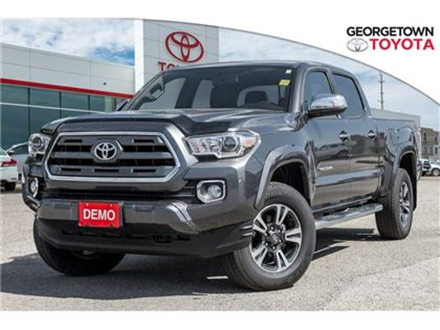 2017 Toyota Tacoma Limited Model with all the features! in Georgetown, Ontario