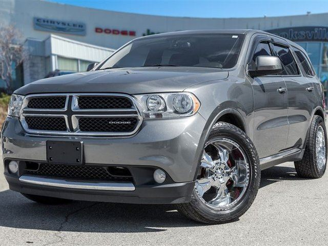 2011 Dodge Durango SXT, TWO SETS OF WHEELS! in Mississauga, Ontario