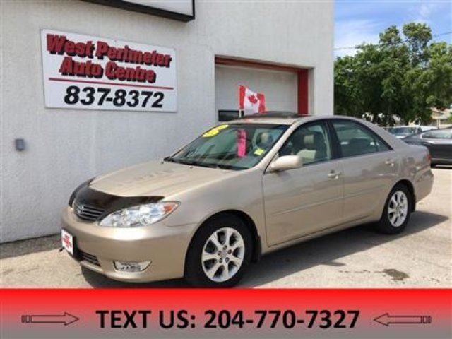2006 toyota camry xle v6 winnipeg manitoba car for sale 2802997. Black Bedroom Furniture Sets. Home Design Ideas
