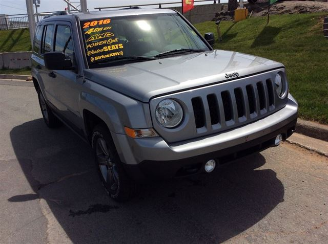 2016 JEEP PATRIOT SPECIAL PACKAGE/BLACKED OUT WHEELS/ONLY 9800KMS in Dartmouth, Nova Scotia
