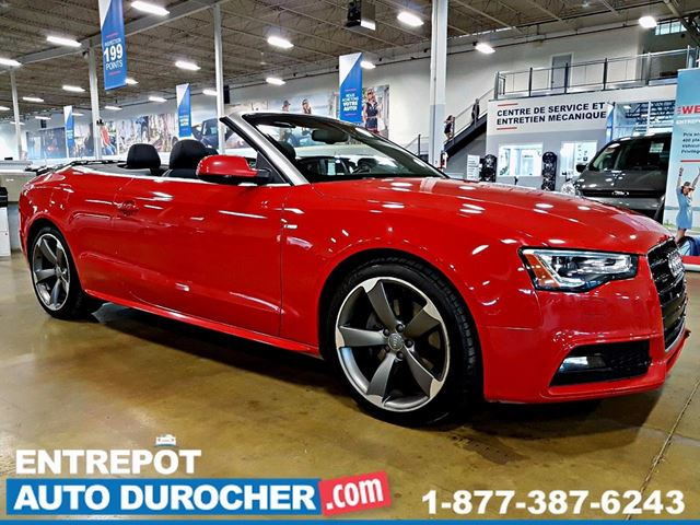 2014 Audi A5 TECKNIK - AUTOMATIQUE - AIR CLIMATISn++ - GPS in Laval, Quebec