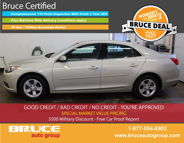 2014 Chevrolet Malibu LS 2.5L 4 CYL AUTOMATIC FWD 4D SEDAN in Middleton, Nova Scotia
