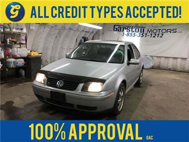 2003 VOLKSWAGEN JETTA GLS TURBO*****AS IS CONDITION AND APPEARANCE****1. in Cambridge, Ontario