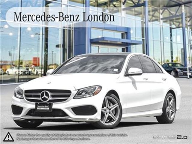 2015 MERCEDES-BENZ C-CLASS C300 4MATIC Sedan in London, Ontario