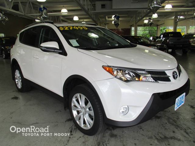 2014 Toyota RAV4 Limited - Leather, Bluetooth, Navigation in Port Moody, British Columbia