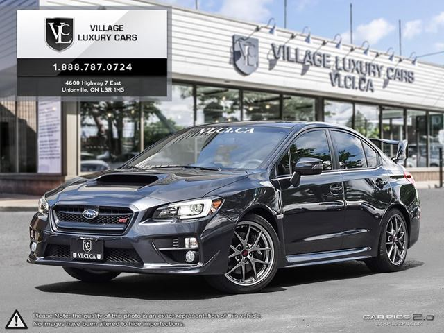 2015 SUBARU IMPREZA Sport-tech Package ULTRA LOW MILEAGE | CLEAN CARPROOF | NAVIGATION | VLC TRADE IN in Markham, Ontario