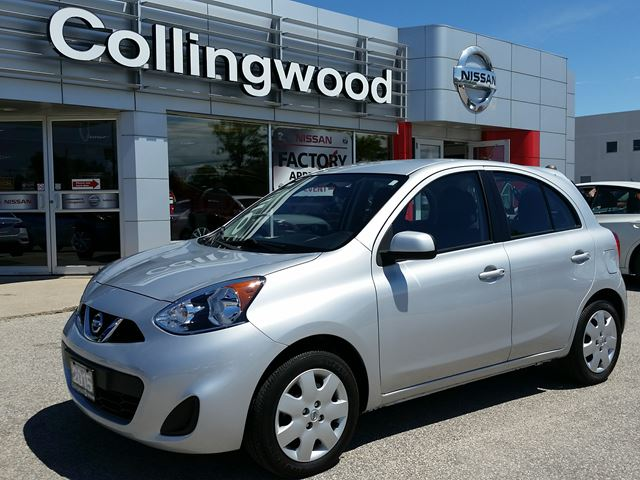 2015 Nissan Micra SV AUTO *1 OWNER* in Collingwood, Ontario