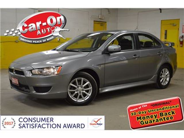 2015 MITSUBISHI LANCER LIMITED EDITION SUNROOF ONLY 37, 000 KM in Ottawa, Ontario