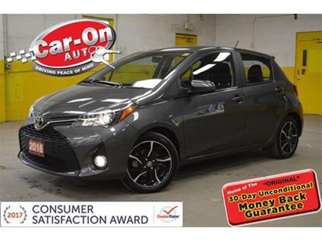 2016 Toyota Yaris SE AUTOMATIC A/C ALLOYS ONLY 4300 KMS in Ottawa, Ontario