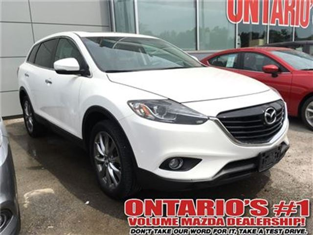 2014 Mazda CX-9 GT-AWD,NAVIGATION,LEATHER, SUNROOF/TORONTO in Toronto, Ontario