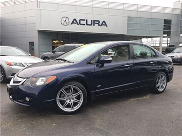 2010 Acura CSX i-Tech   ONLY25000KMS   NAVI   LEATHER   1OWNER in Burlington, Ontario