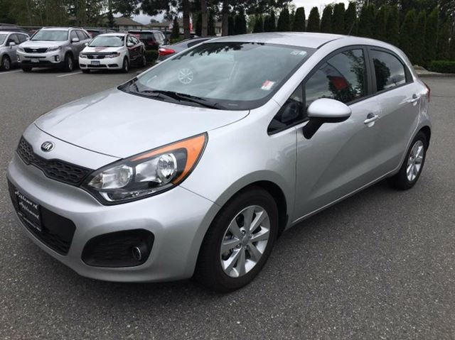2013 KIA RIO LX+ 4dr Hatchback in Surrey, British Columbia