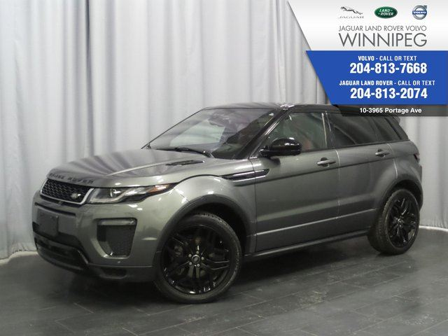 2016 LAND ROVER RANGE ROVER EVOQUE HSE Dynamic *ONE OWNER TRADE* in Winnipeg, Manitoba