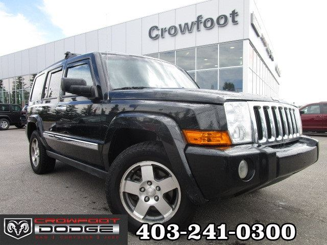 2010 Jeep Commander SPORT WITH NAV, SUNROOF & LEATHER 4X4 in Calgary, Alberta