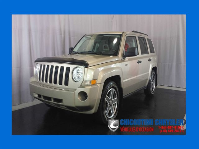 2009 Jeep Patriot North 4X4 Sin++ges chauffants Dn++marreur in Chicoutimi, Quebec