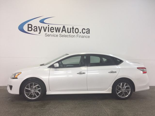 2013 NISSAN SENTRA SR- 1.8L! ALLOYS! SPORT MODE! A/C! CRUISE! in Belleville, Ontario