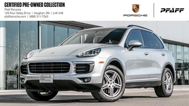 2017 PORSCHE CAYENNE w/ Tip in Woodbridge, Ontario