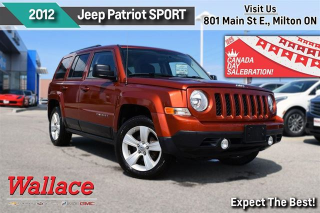 2012 JEEP Patriot SPORT/1-OWNER/LOW KM/4WD/ in Milton, Ontario