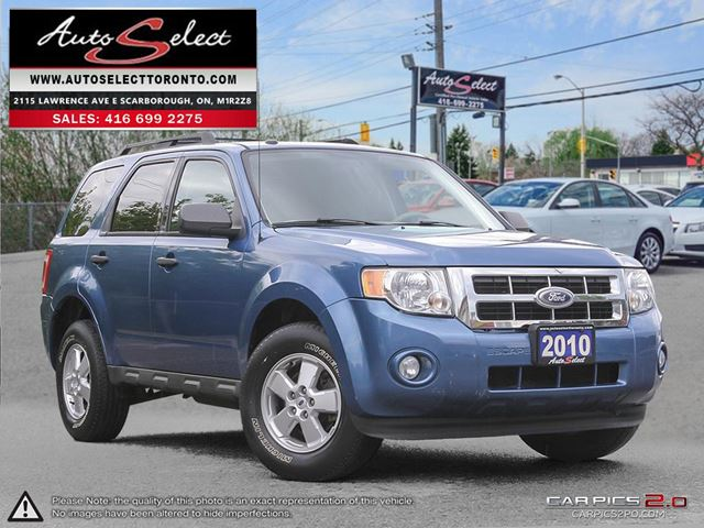 2010 Ford Escape ONLY 157K! **5 SPEED** CLEAN CARPROOF in Scarborough, Ontario
