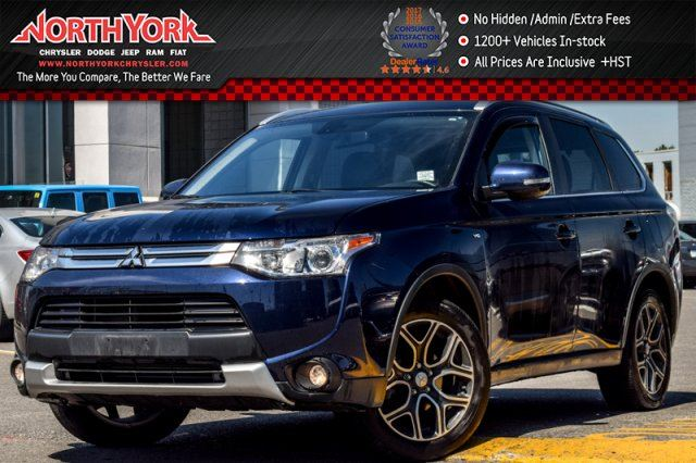 2015 Mitsubishi Outlander GT AWD 7-Seater Sunroof Tow Hitch Backup Cam 18Alloys in Thornhill, Ontario