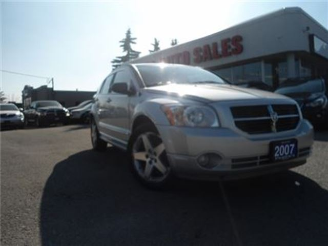2007 Dodge Caliber 4dr HB R/T AWD TOW TONED COLOR INSIDE ALL4 BRAKES in Oakville, Ontario