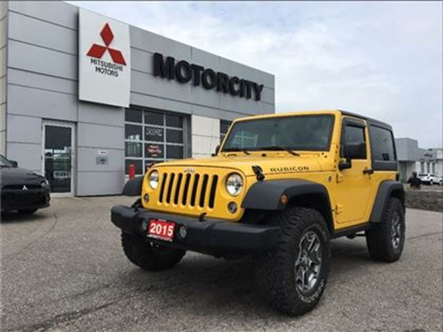 2015 JEEP WRANGLER Rubicon - Navigation - Removable roof panels - in Whitby, Ontario